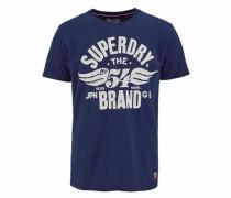 T-Shirt »54 Brand Cold DYE Tee« blau