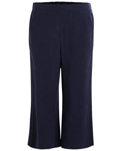 Culotte-Hose 'vivita' blau / dunkelblau