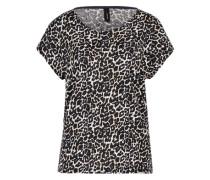 Shirt 'Felicity' schwarz / weiß