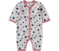 Baby Schlafanzug für Jungen blau / navy / grau / rosé
