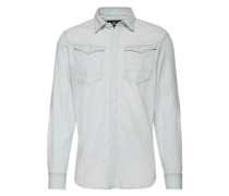 Hemd 'Arc 3D Shirt l/s' hellblau