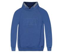 Sweatshirt langärmlig blau