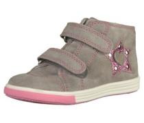 Sneaker grau / rosa