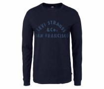 Langarmshirt indigo / ultramarinblau
