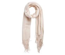 Schal Long Wool weiß