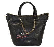 Monospalla Poppa Handtasche 25 cm schwarz