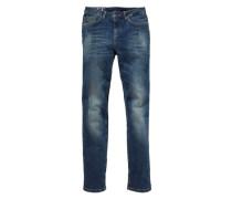 5-Pocket-Jeans blau
