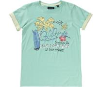 T-Shirt für Jungen gelb / mint