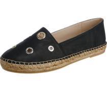 Velvet Slipper schwarz