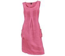 Leinenkleid pink