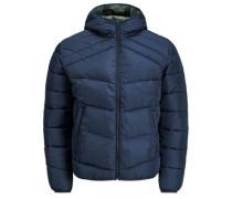 Trendige Wattierte Jacke blau