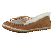 Slipper Out N About Felt Moc Nl2431-010 braun