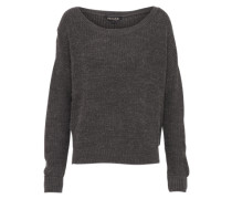 Pullover 'rib Core' anthrazit