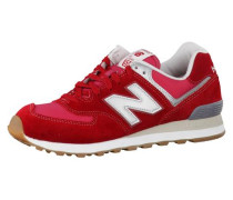 Sneaker 'ml574-Hrj-D' rot