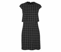 2-in-1-Kleid schwarz