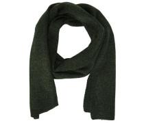 Klassischer Schal dunkelgrün