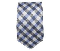 Krawatte ' Brown Label ' blau / hellblau / schwarz / weiß