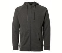 Sweatshirt Kapuzen- grau