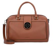 Handtasch Leder 32 cm braun