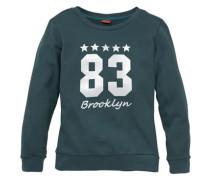 Sweatshirt bedruckt für Mädchen grün