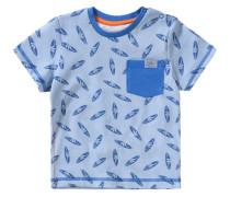 Baby T-Shirt für Jungen hellblau
