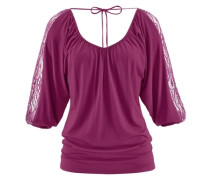 Strandshirt lila