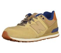 Sneaker beige / blau