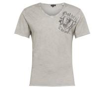 Shirt 'MT Roots' silbergrau / grau