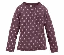 Langarmshirt rosa / bordeaux