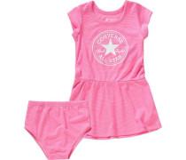 Baby Set Jerseykleid + Höschen pink