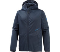Go Far Fleecejacke blau