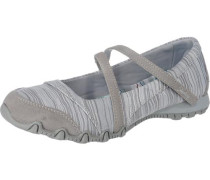 Bikers Ripples Ballerinas grau