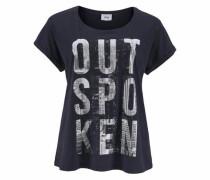 T-Shirt 'Oprah' nachtblau
