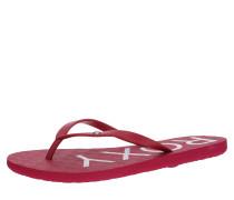 Zehentrenner 'sandy Iii' pink / rot