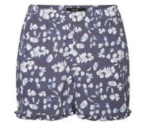 Feminine Shorts blau / weiß