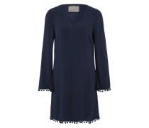 Kleid mit Bommeln 'VMSienna' blau
