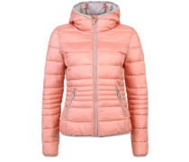 Light Down-Steppjacke orange
