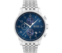 Chronograph »Navigator Classic 1513498« silber