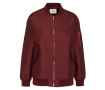 Bomberjacke 'Theory' bordeaux