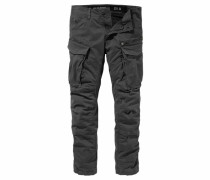 Cargohose »Rovic Zip 3D tapered« grau