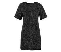 Kleid mit Raffung 'Ari' schwarz