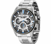Multifunktionsuhr 'escape Pl14834Jstu.61M' blau / silber