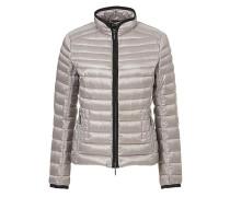 Jacke in Leichtdaunen-Qualität hellgrau
