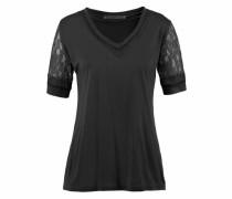 V-Shirt 'dafne' schwarz