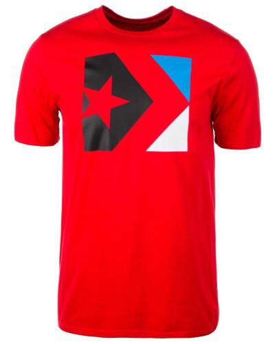 T-Shirt 'Star Chevron Box' rot