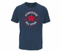 T-Shirt marine / rot / weiß