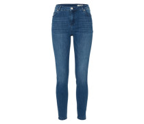'HW Midblue' Skinny Jeans blue denim