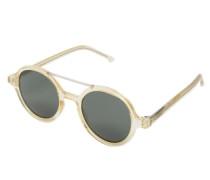 Sonnenbrille 'vivien' gold / silbergrau