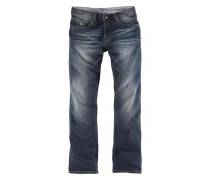 Stretch Jeans blau / dunkelblau