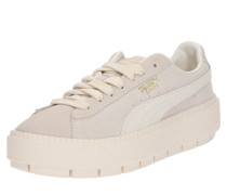 Plateau-Sneaker offwhite